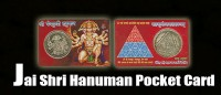 Jai shri hanuman pocket card