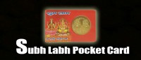 Shubh-labh pocket card